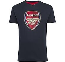 Arsenal Crest Blue T-Shirt