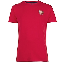 Arsenal Red Crest T-Shirt