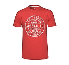 Arsenal Kings of London Red Stamp T-Shirt