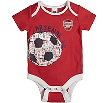 Arsenal Baby 2pc Bodysuit and Shorts Set