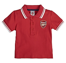 Arsenal Baby 2pk Polo Shirt and T-Shirt