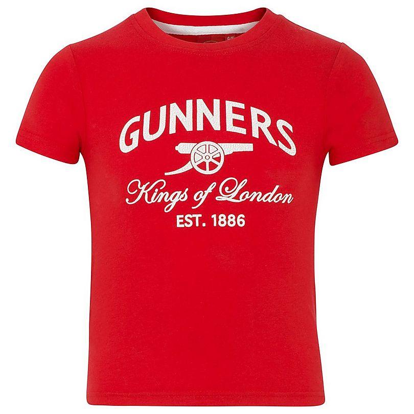d8da626fadb Arsenal Kids Gunners T-Shirt (2-13yrs)
