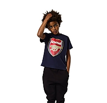 Arsenal Kids Crest T-Shirt (2-13yrs)