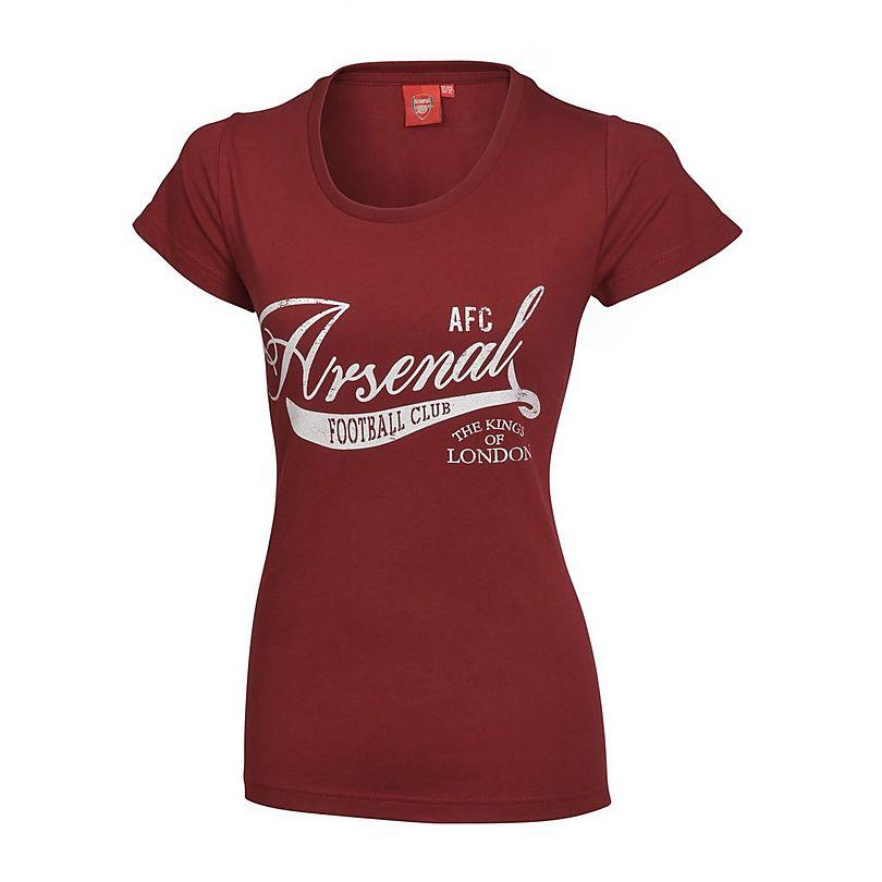 designer fashion 5c95e 7f90b Arsenal Women's Redcurrant T-Shirt   Official Online Store