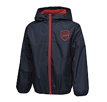 Arsenal Junior Shower Ripstop Track Jacket
