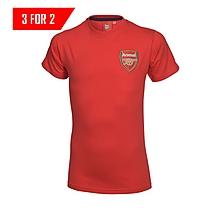 Arsenal Infant Red Crest T-Shirt
