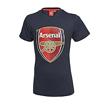 Arsenal Infant Blue Crest T-Shirt