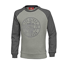 Arsenal Junior Kings Of London Raglan Sweatshirt