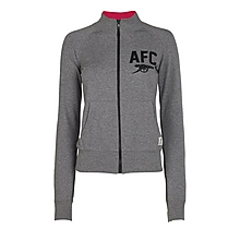Arsenal Ladies Zip Up Track Jacket