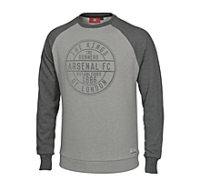 Arsenal Kings of London Flock Sweatshirt