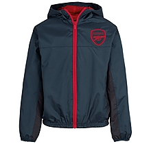 Arsenal Junior Leisure Ripstop Track Jacket