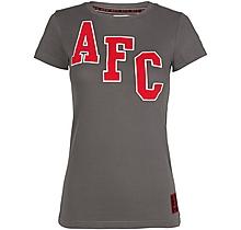 Arsenal Ladies Applique AFC Crew T-Shirt