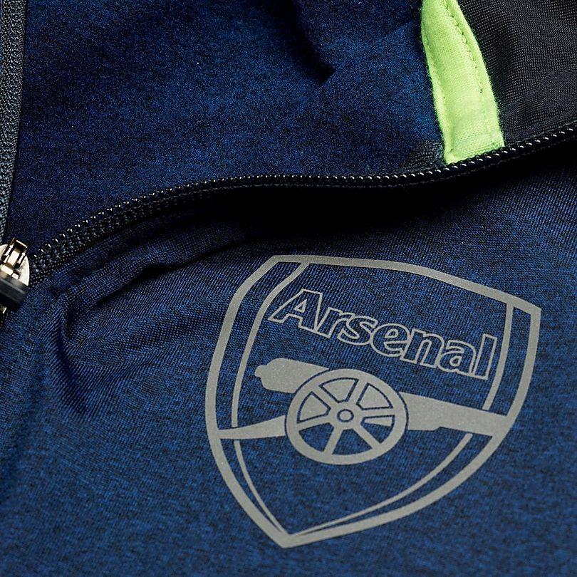 Buy This Now: Arsenal Leisure Half Zip Marl Top