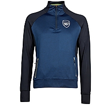Arsenal Leisure 1/4 Zip Marl Top