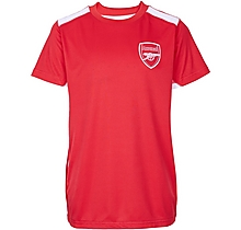 Arsenal Junior Leisure Poly Panel T-Shirt
