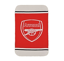 Arsenal Sherpa Fleece Blanket Throw