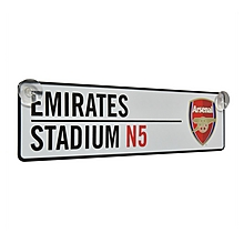 Arsenal Emirates Window Sign