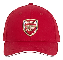 Arsenal Adult Red Crest Cap