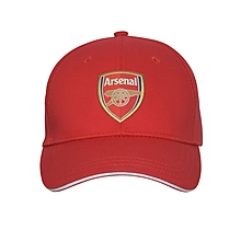 Arsenal Kids Red Crest Cap