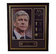 Arsène Wenger 20 Years at Arsenal Signed Print