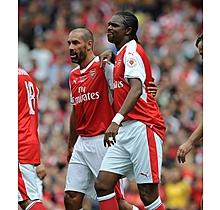 Arsenal Kanu Match Worn Shirt Keyring