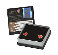 Arsenal Alexis Match Worn Shirt Cuff Links