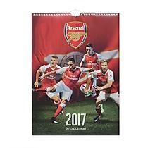 Arsenal A3 Calendar 2017