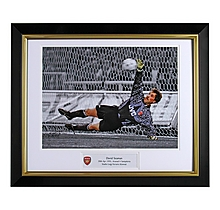 David Seaman V Sampdoria Framed Print