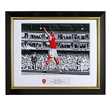 Tony Adams V Everton Framed Print