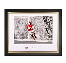 Ian Wright V Crystal Palace Framed Print