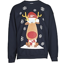 Arsenal Adult Christmas Reindeer Sweatshirt