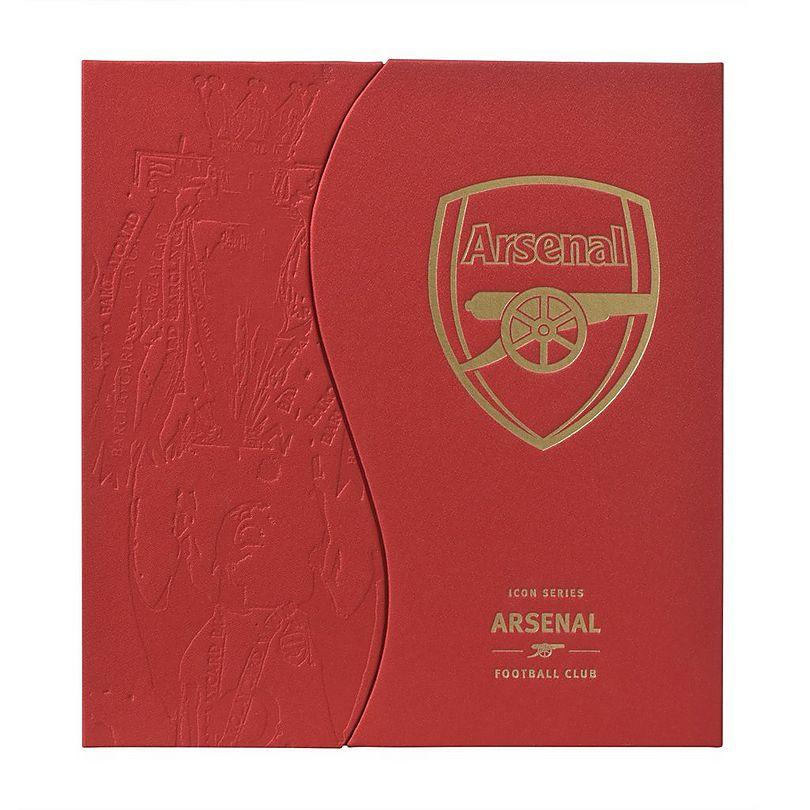 Personalised Arsenal On This Day Book Hardback Football Fan Memorabilia Gift