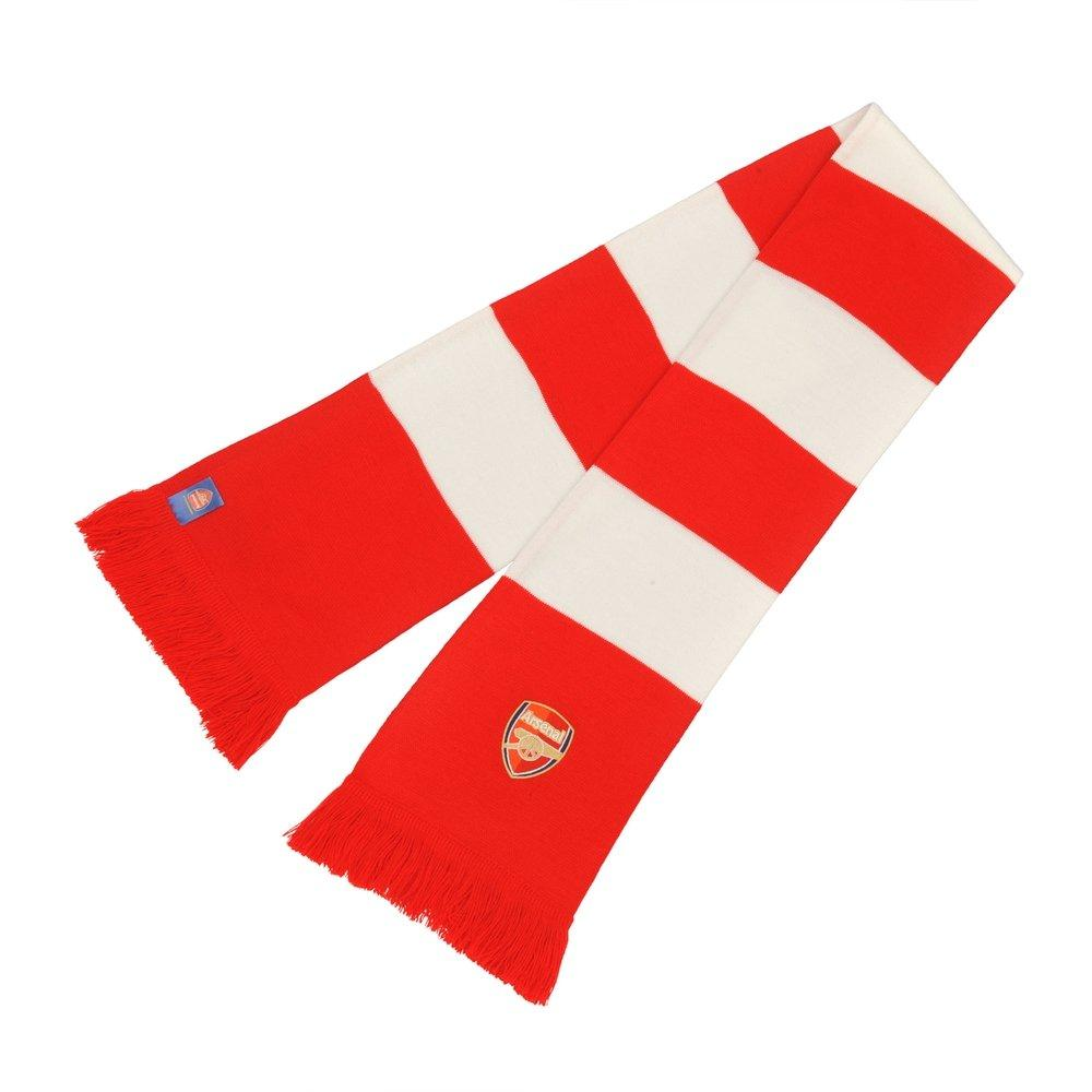 Knitting Pattern For Arsenal Scarf : Arsenal Mens Scarves & Gloves Official Online Store