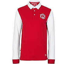 Arsenal Vintage Long Sleeve Polo