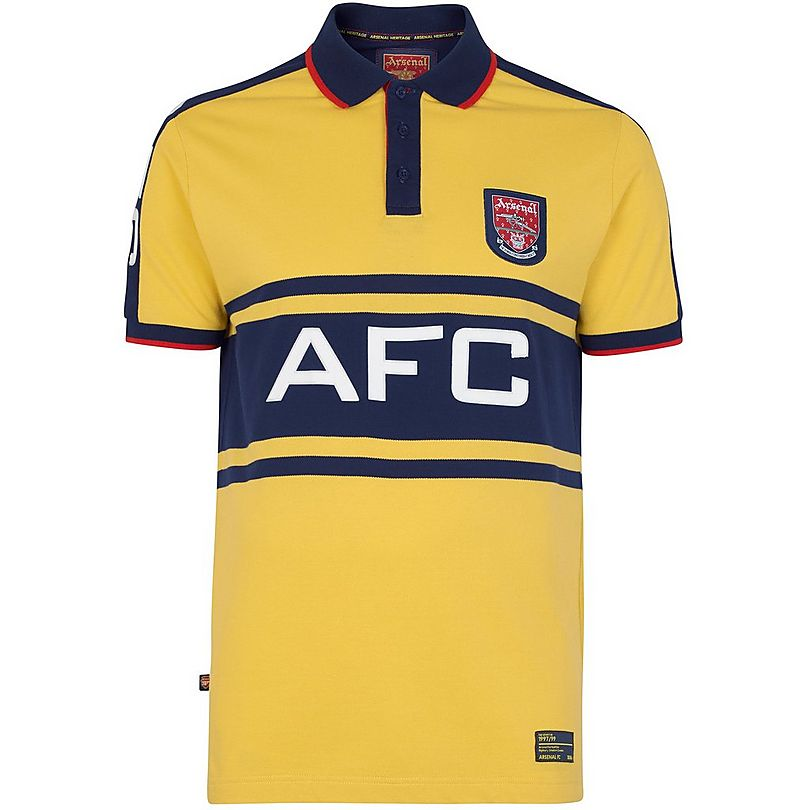 Arsenal Retro Away baju