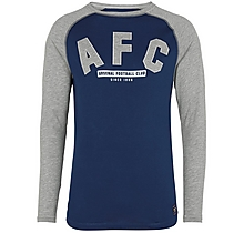 Arsenal Since 1886 Long Sleeve Applique T-Shirt