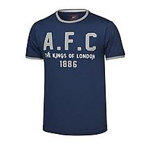Arsenal Since 1886 AFC Applique T-Shirt