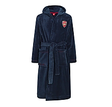 Arsenal Junior Supersoft Fleece Dressing Gown