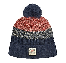 Arsenal Fleece Lined Fairisle Beanie