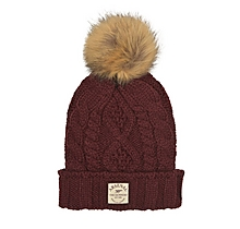 Arsenal Womens Fur Pompom Beanie