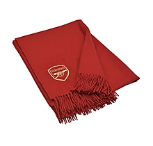Arsenal Pure Lambswool Luxury Blanket