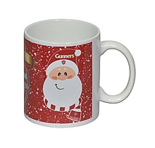 Arsenal Christmas Santa Mug