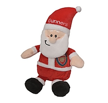 Arsenal Christmas Santa Plush Toy 6.5""