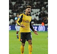 Arsenal Oxlade-Chamberlain Match Worn Shirt Cuff Links