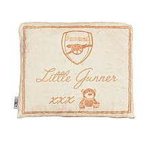 Arsenal Baby Snuggle Fleece Cushion