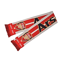 Arsenal Jaquard Text Scarf