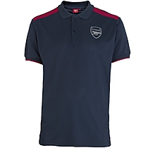 Arsenal Leisure Polyester Panel Polo