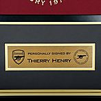 f50dada40 Arsenal Henry Framed Signed Last Year at Highbury Shirt