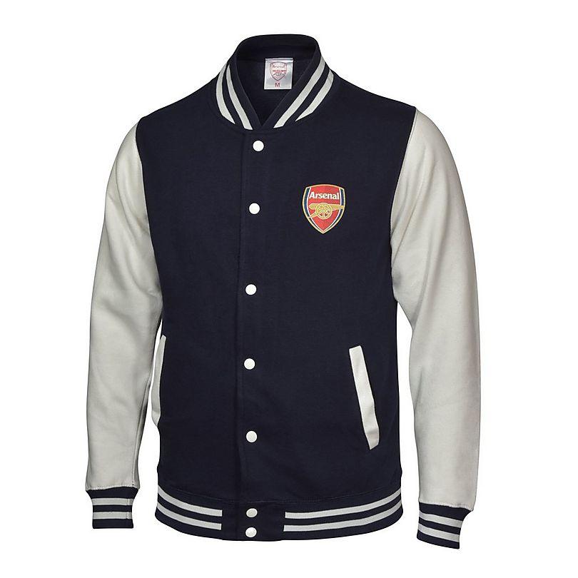 Arsenal Varsity Baseball Jacket Navy | Official Online Store