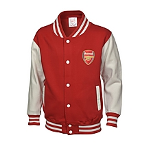 Arsenal Kids Varsity Baseball Jacket